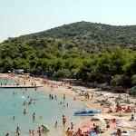 Strand-Camping-jezera